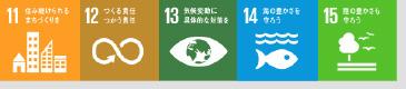 環境項目 11 12 13 14 15